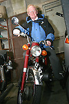 John Quirke on his bike at Kennedys 60th Anniversary...Photo NEWSFILE/Jenny Matthews.(Photo credit should read Jenny Matthews/NEWSFILE)....This Picture has been sent you under the condtions enclosed by:.Newsfile Ltd..The Studio,.Millmount Abbey,.Drogheda,.Co Meath..Ireland..Tel: +353(0)41-9871240.Fax: +353(0)41-9871260.GSM: +353(0)86-2500958.email: pictures@newsfile.ie.www.newsfile.ie.FTP: 193.120.102.198.