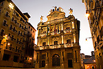 City Hall, Pamplona, Navarra, Spain