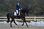 Class 1. Prelim 17. British Dressage. Brook Farm training centre. Essex. UK. 11/11/2017. ~ MANDATORY CREDIT Garry Bowden/Sport in Pictures - NO UNAUTHORISED USE - +44 7837 394578