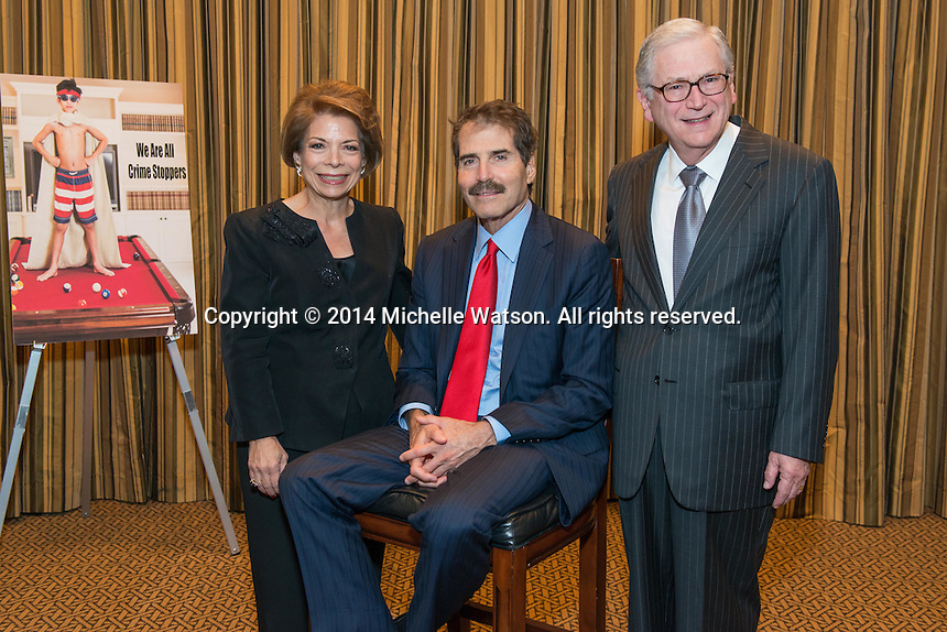 CrimeStoppers Gala with special guest speaker John Stossel at the Omni Hotel