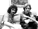 Hall &amp; Oates 1977 John Oates and Daryl Hall<br /> <br /> &copy; Chris Walter