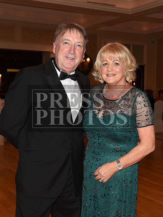 Joe and Angela Finegan at the Baile Atha Fherdia Traders Awards in the Nuremore hotel Carrickmacross. Photo:Colin Bell/pressphotos.ie