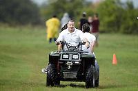 SAN ANTONIO, TX - SEPTEMBER 17, 2010: The University of Texas at San Antonio Roadrunners host the Ricardo Romo/Six Flags Fiesta Texas Cross Country Classic at the Brooks City Base. (Photo by Jeff Huehn)