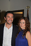 "Guiding Light Tom Pelphrey and Melissa Archer at Southwest Florida SoapFest's Celebrity Weekend as Melissa came to see Tom Pelphrey doing A Night at the Theatre performing ""My Italy Story"" benefitting the Apothecary Theatre Company at the Rose History Auditorium on November 11, 2012 in Marco Island, Florida. (Photo by Sue Coflin/Max Photos)"