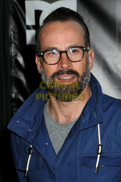 "Jason Lee.""Waiting For Lightning"" Los Angeles Screening held at The Cinerama Dome, Hollywood, California, USA..April 10th, 2012.headshot portrait grey gray black blue glasses beard facial hair.CAP/ADM/BP.©Byron Purvis/AdMedia/Capital Pictures."