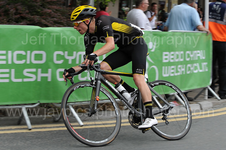 """Rounding a bend during the Abergavenny Festival of Cycling """"Grand Prix of Wales"""" race on Sunday 17th 2016<br /> <br /> <br /> Jeff Thomas Photography -  www.jaypics.photoshelter.com - <br /> e-mail swansea1001@hotmail.co.uk -<br /> Mob: 07837 386244 -"""