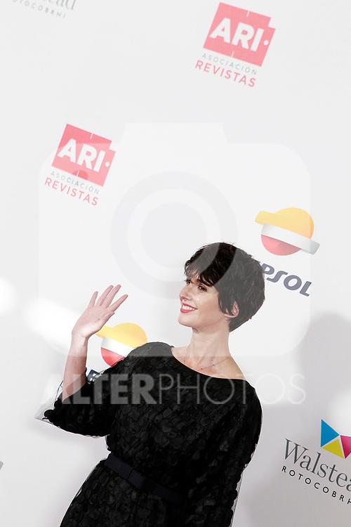 Paz Vega during the photocall of the ARI Awadrs 40th Anniversary. April 25, 2018. (ALTERPHOTOS/Acero)