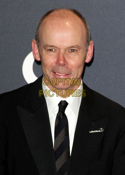 Sir Clive Woodward.Arrivals at the Laureus 2012 World Sports Awards held at the Queen Elizabeth II Centre, London, England..February 6th, 2012.headshot portrait black white suit tie .CAP/ROS.©Steve Ross/Capital Pictures