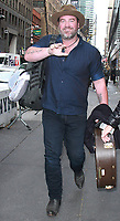 NEW YORK, NY - NOVEMBER 8: Lee Brice seen after an appearance on NBC's Today Show in New York City on November 8, 2017. Credit: RW/MediaPunch
