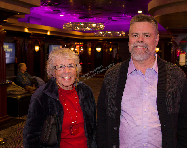 Matthew and his mom Lorraine Pichon during the Sheep Dip 54 Show at the Eldorado Hotel & Casino on Friday night, Jan. 12, 2018.