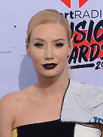 Iggy Azalea @ the 2016 iHeart Radio Music awards held @ the Forum.<br /> April 3, 2016