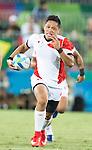 Kazuhiro Goya (JPN), AUGUST 11, 2016 - Rugby : Men's bronze medal match between Japan 14- 54 South Africa at Deodoro Stadium during the Rio 2016 Olympic Games in Rio de Janeiro, Brazil. (Photo by Enrico Calderoni/AFLO SPORT)