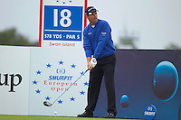 Smurfit Kappa European Open, K Club, Strafin, Co Kildare..Padraig Harrington teeing off on the 18th during the 3rd round of the european open..Photo NEWSFILE/Eoin Clarke..(Photo credit should read Eoin Clarke/NEWSFILE)...This Picture has been sent you under the condtions enclosed by:.Newsfile Ltd..the Studio,.Millmount Abbey,.Drogheda,.Co Meath..Ireland..Tel: +353(0)41-9871240.Fax: +353(0)41-9871260.GSM: +353(0)86-2500958.email: pictures@newsfile.ie.www.newsfile.ie.FTP: 193.120.102.198..This picture is from Fran Caffrey@newsfile.ie