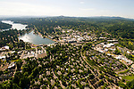 Aerial View of Lake Oswego, Oregon