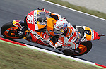 12.06.2015 Montmelo. Fim. GP Monster energy of Catalonia. Picture show Dani Pedrosa Repsol Honda Team in action during friday free practice