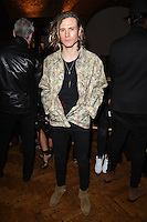 Dougie Poynter<br /> at the PPQ AW17 show as part of London Fashion Week AW17 at 180 Strand, London.<br /> <br /> <br /> ©Ash Knotek  D3230  17/02/2017