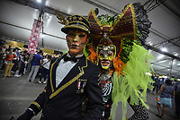 CALI - COLOMBIA. 16-08-2019: Drag queens afro posan con los asistentes durante el tercer día del XXIII Festival de Música del Pacífico Petronio Alvarez 2019 el festival cultural afro más importante de Latinoamérica y se lleva acabo entre el 14 y el 19 de agosto de 2019 en la ciudad de Cali. / Drag queen afo descendant pose with the people during the XXIII Pacific Music Festival Petronio Alvarez 2019 that is the most important afro descendant cultural festival of Latin America and takes place between August 14 and 19, 2019, in Cali city. Photo: VizzorImage/ Gabriel Aponte / Staff