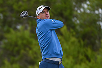 Martin Laird (SCO) watches his tee shot on 15 during Round 2 of the Valero Texas Open, AT&amp;T Oaks Course, TPC San Antonio, San Antonio, Texas, USA. 4/20/2018.<br /> Picture: Golffile | Ken Murray<br /> <br /> <br /> All photo usage must carry mandatory copyright credit (&copy; Golffile | Ken Murray)