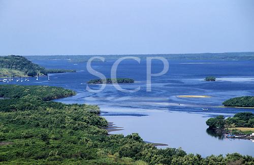 Parana State, Brazil. Bay of Paranagua.