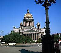 St Isaaks Cathedral. Series of images of Leniningrad/St Petersburg Russia 1976
