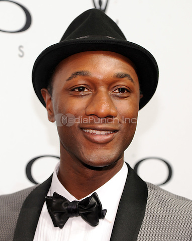 New York, NY- October 1: Aloe Blacc attends the 2014 CLIO Awards on October 1, 2014 at Cipriani Wall Street in New York City.  Credit: John Palmer/MediaPunch
