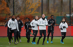 27.11.2019: Feyenoord training: Leroy Fer and Wouter Burger