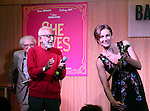 Sheldon Harnick, Joe Masteroff and Laura Benanti  performs at the CD release signing for  the Broadway revival of 'She Loves Me' at Barnes and Noble 86th street on August 3, 2016 in New York City.
