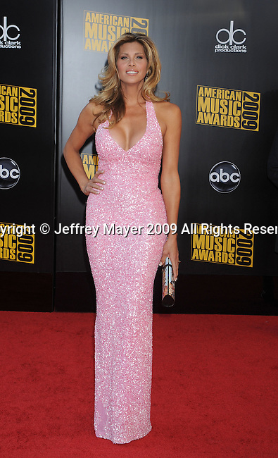 LOS ANGELES, CA. - November 22: Candis Cayne arrives to the 2009 American Music Awards at Nokia Theatre L.A. Live on November 22, 2009 in Los Angeles, California.