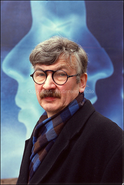 Christoph Hein, german author in Berlin, 2001.