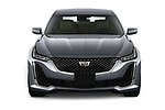 Car photography straight front view of a 2020 Cadillac CT5 Premium-Luxury 4 Door Sedan Front View