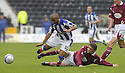 24/10/2009  Copyright  Pic : James Stewart.sct_jspa03_kilmarnock_st_johnstone  . :: MURRAY DAVIDSON IS BOOKED FOR THIS CHALLENGE ON MEHDI TAOUIL :: .James Stewart Photography 19 Carronlea Drive, Falkirk. FK2 8DN      Vat Reg No. 607 6932 25.Telephone      : +44 (0)1324 570291 .Mobile              : +44 (0)7721 416997.E-mail  :  jim@jspa.co.uk.If you require further information then contact Jim Stewart on any of the numbers above.........