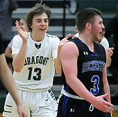 Rochester at Lake Orion, Boys Varsity Basketball, 2/13/18