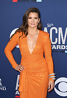 LAS VEGAS, NEVADA - APRIL 07: Danica Patrick attends the 54th Academy Of Country Music Awards at MGM Grand Hotel &amp; Casino on April 07, 2019 in Las Vegas, Nevada. <br /> CAP/MPIIS<br /> &copy;MPIIS/Capital Pictures