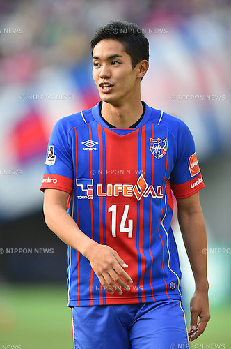Yoshinori Muto (FC Tokyo), APRIL 18, 2015 - Football /Soccer : 2015 J1 League 1st stage match between F.C. Tokyo 1-2 Sanfrecce Hiroshima at Ajinomoto Stadium in Tokyo, Japan. (Photo by AFLO)