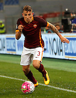 Calcio, Serie A: Roma vs Fiorentina. Roma, stadio Olimpico, 4 marzo 2016.<br /> Roma&rsquo;s Lucas Digne in action during the Italian Serie A football match between Roma and Fiorentina at Rome's Olympic stadium, 4 March 2016.<br /> UPDATE IMAGES PRESS/Riccardo De Luca