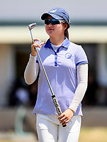 Rose Zheng of Auckland. Day One of the Toro Interprovincial Women's Championship, Sherwood Golf Club, Wjangarei,  New Zealand. Monday 4 December 2017. Photo: Simon Watts/www.bwmedia.co.nz