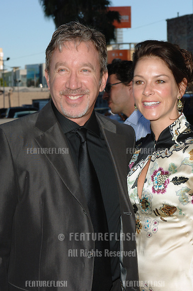 Actor TIM ALLEN & date at the Los Angeles premiere of the hit Broadway musical Wicked, at the Pantages Theatre, Hollywood..June 22, 2005 Los Angeles, CA.© 2005 Paul Smith / Featureflash