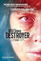 DESTROYER (2018)<br /> POSTER<br /> *Filmstill - Editorial Use Only*<br /> CAP/FB<br /> Image supplied by Capital Pictures