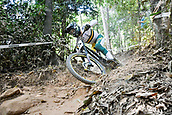 8th September 2017, Smithfield Forest, Cairns, Australia; UCI Mountain Bike World Championships; Troy Brosnan (AUS) team Canyon Factory Racing DH during the downhill official timed session;
