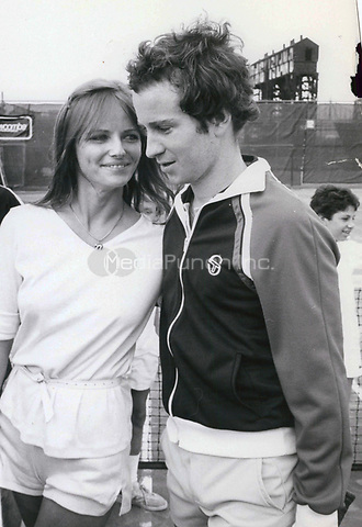 John McEnroe & Cheryl Tiegs 1977<br /> Photo By John Barrett-PHOTOlink.net / MediaPunch