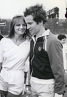 John McEnroe &amp; Cheryl Tiegs 1977<br /> Photo By John Barrett-PHOTOlink.net / MediaPunch