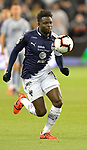 Aviles Hurtado of C.F Monterrey chases the ball during the CONCACAF Champions League semifinal soccer game on April 11, 2019 at Children's Mercy Park in Kansas City, Kansas.  Photo by TIM VIZER/AFP