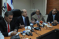 Max Puig y los demás miembros del Consejo Nacional de la Seguridad Social. FE