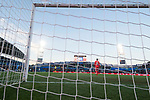 Goalkeeper Norberto Murara Neto of Valencia CF seen from behind net goal during the La Liga 2017-18 match between Getafe CF and Valencia CF at Coliseum Alfonso Perez on December 3 2017 in Getafe, Spain. Photo by Diego Gonzalez / Power Sport Images