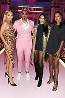 NEW YORK, NY- SEPTEMBER 8: Jasmine Sanders, Umar Kamani and Shanina Shaik at the Saweetie NYFW 2019 Runway Show in New York City on September 8, 2019. <br /> CAP/MPIWG<br /> ©WG/MPI/Capital Pictures
