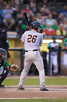 Chris Betts (26) of the Bowling Green Hot Rods at bat against the Dayton Dragons at Fifth Third Field on June 8, 2018 in Dayton, Ohio. The Hot Rods defeated the Dragons 11-4.  (Brian Westerholt/Four Seam Images)