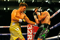 James Branch Jnr (gold shorts) defeats Kevin Williams during a Boxing Show at the The O2 Arena on 23rd June 2018