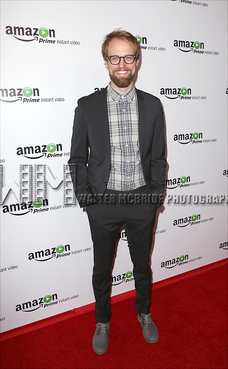 Adam David Thompson attending the Amazon Red Carpet Premiere for 'Mozart in the Jungle' at Alice Tully Hall on December 2, 2014 in New York City.