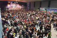 A sSaint-Brieuc, les fest-noz comptent couramment plus de 1000 danseurs