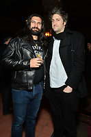 """NEW YORK - MARCH 19: (L-R) Actor Kayvan Novak and Garrett Basch, Executive Producer, attend the party at the Bowery Hotel Terrace following the premiere for FX Networks """"What We Do In The Shadows"""" on March 19, 2019 in New York City. (Photo by Anthony Behar/FX/PictureGroup)"""
